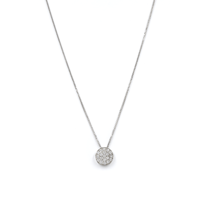 "DIAMOND NECKLACE - ""GLOBAL PENDANT"" - Chris Aire Fine Jewelry & Timepieces"