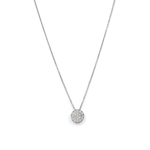 "DIAMOND NECKLACE - ""GLOBAL PENDANT"""