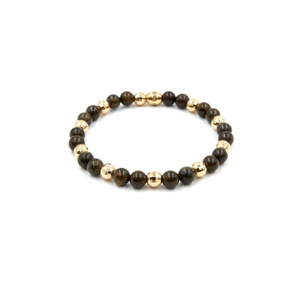 GOLD AND BEAD  BRACELET - Chris Aire Fine Jewelry & Timepieces