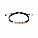 Prosperity Bracelet - 14K Amber Hue Gold Beaded Bracelet - Red Gold®