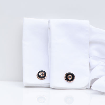 CHRIS AIRE ONYX CUFFLINKS - Chris Aire Fine Jewelry & Timepieces