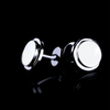 Serene White Gold Cufflinks
