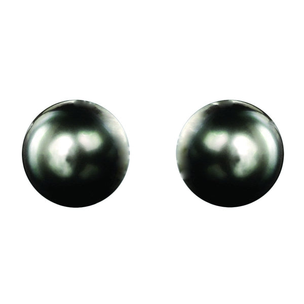 AIRE TAHITIAN PEARL STUD EARRINGS - Chris Aire Fine Jewelry & Timepieces