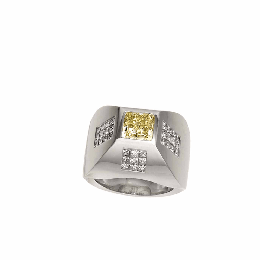 Load image into Gallery viewer, CHRIS AIRE MEN'S DIAMOND RING - Amabling - Chris Aire Fine Jewelry & Timepieces