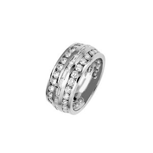 Load image into Gallery viewer, Love of Heaven - Platinum Diamond Ring