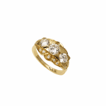 Chris Aire 18 Karat Yellow Gold Engagement Ring - Deco