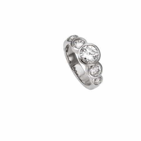 AIRE QUINTUPLE  ENGAGEMENT RING - Chris Aire Fine Jewelry & Timepieces