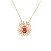 Salute to the Sun Necklace - 18 Karat Gold & Diamond Necklace