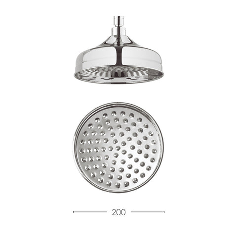 Crosswater Belgravia 200mm showerhead
