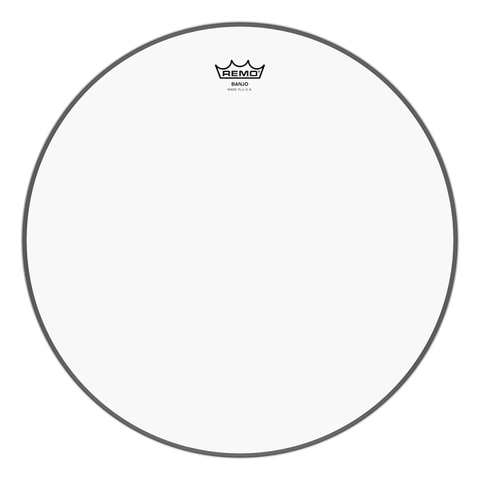 "Remo Clear 11"" Banjo Head, Medium Crown"