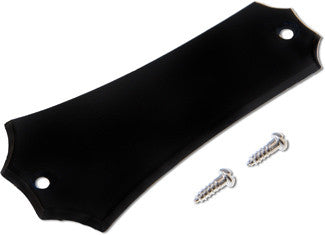Truss Rod Cover, Black Plastic