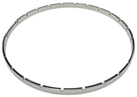 Prucha Tension Hoop, Notched, Nickel Plated, Pot Metal