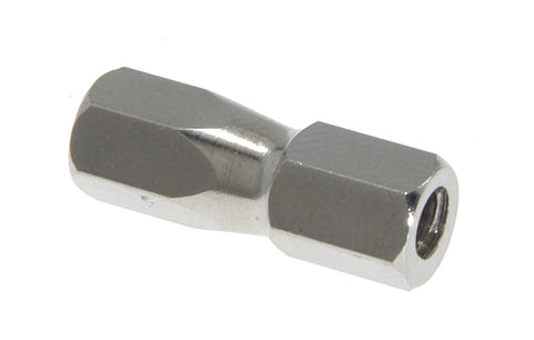 "Nut, 1/4"", Nickel Plated"