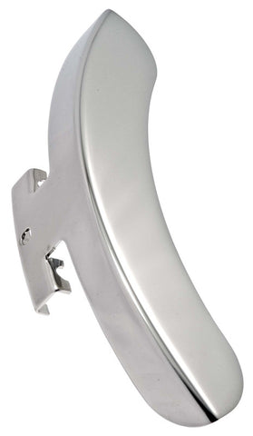 Prucha Armrest, Single Bracket, Nickel-Plated