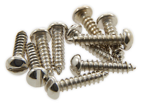 Resonator 'L' Bracket Screws, pkg of 10, Nickel-Plated