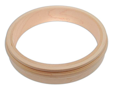 Wood Rim, 3-ply Maple fitted for Two-Piece Flange and Tone Ring