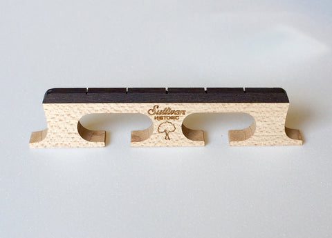 Factory Floor Old-Growth Maple 5-String Banjo Bridge