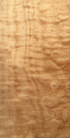 Peghead Overlay Material, Figured Maple