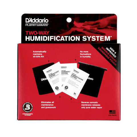 Instrument Humidification, D'Addario Two-Way Humidification System