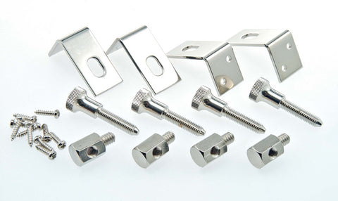 Resonator Hardware Kit for One-Piece Flange, Nickel-Plated