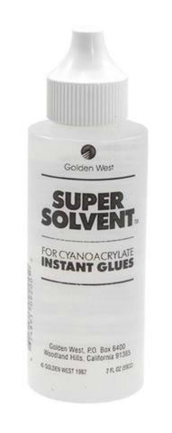Glue, Super Solvent Debonder / Glue Remover, 2oz.