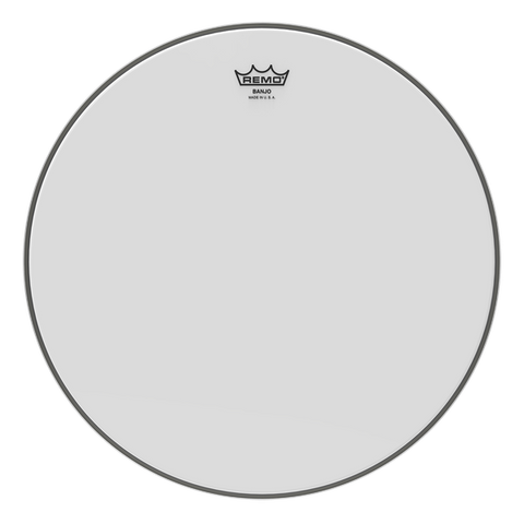 "Remo Bottom Frosted 11"" Banjo Head, High Crown"