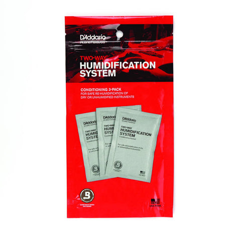 Instrument Humidification, D'Addario Two-Way Humidification System Conditioning Packets