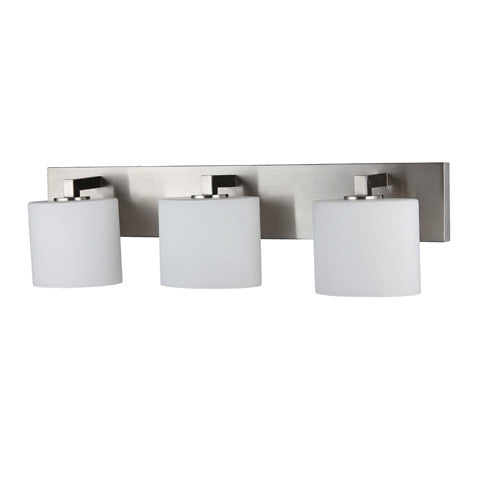 Efficient Lighting El 252 03 Interior Wall Mount Bathroom Vanity Lighting Fixture Efficient Lighting Offers Wide Selection Of Energy Star Qualified And Ul Etl Listed Light Fixtures