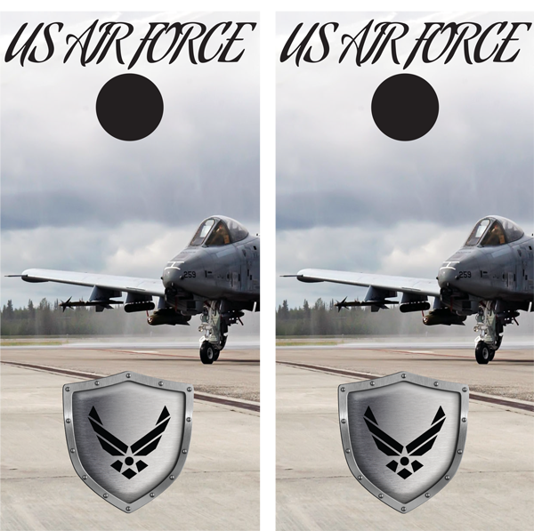 United States Air Force Cornhole Wraps - Wrap your boards.com