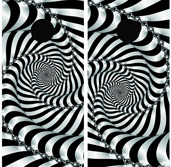 Trippy Eye - Watch the boards move - Wrapyourboards.com