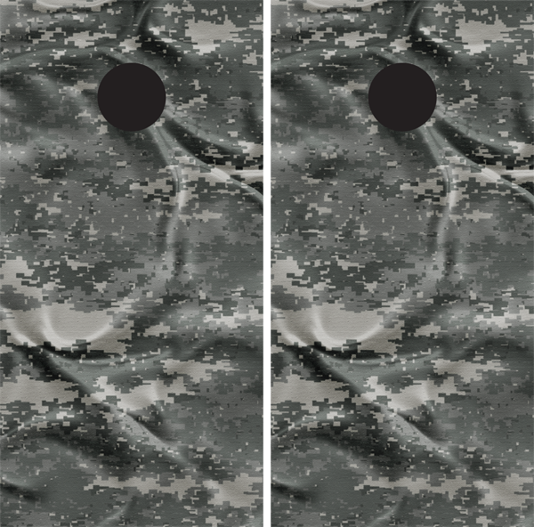 Digital Camouflage Wrinkled Effect Cornhole Board Wraps - US Army - Wrapyourboards.com