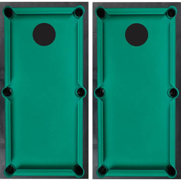 Pool Table Cornhole Board Wraps - Wrapyourboards.com