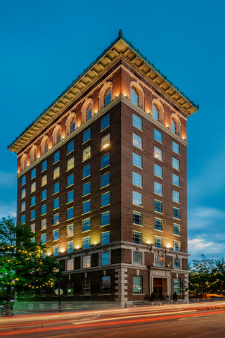 Chamber Building Downtown Greenville South Carolina Offices