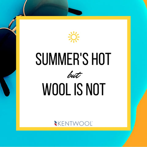 Merino wool can keep you cool this summer.
