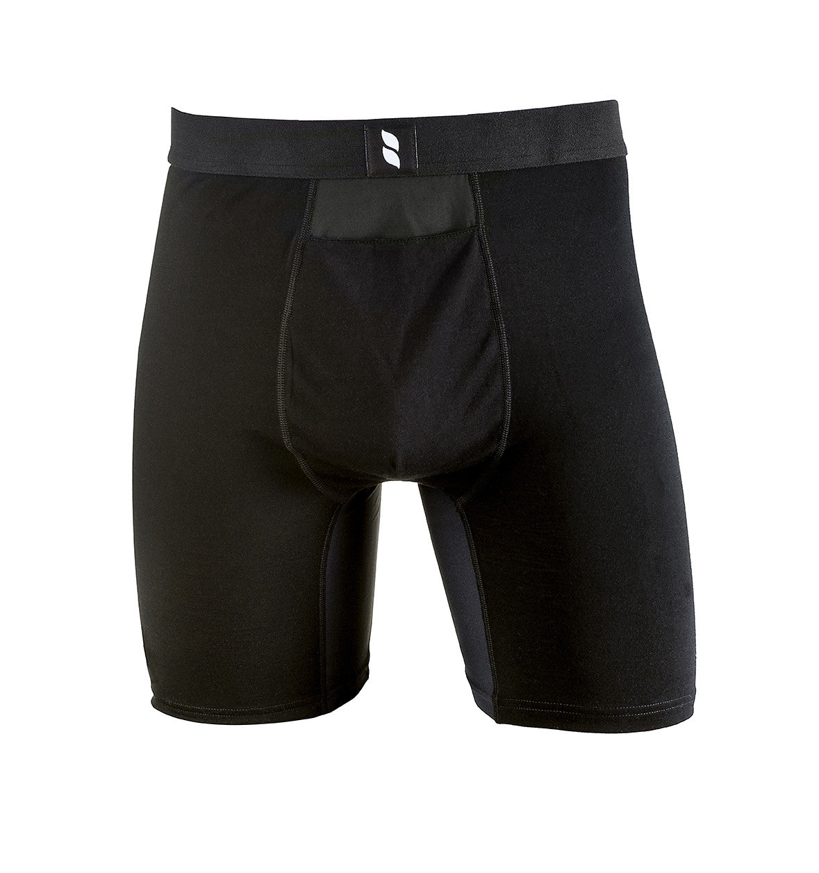 b18351b7b751 ... Merino Wool Boxer Briefs for Men | Kentwool | Made in the USA. Black