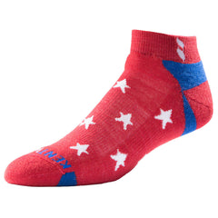 Men's USA Classic Ankle <br/> Red Stars