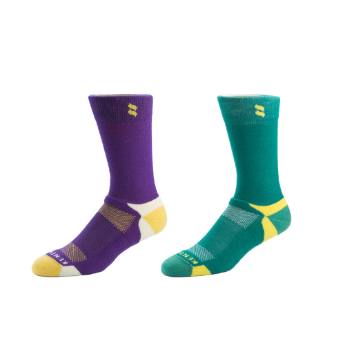 Men's Major Green + Purple/Gold Bundle