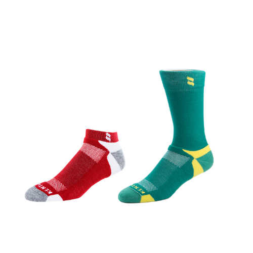 Men's Major Green + Crimson/Gray Bundle