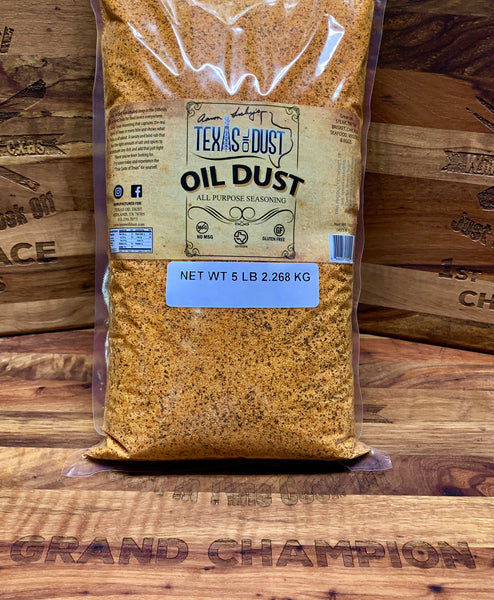 Texas Oil Dust All Purpose Seasoning 5lb bag