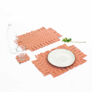 Open image in slideshow, Placemats / without rivets - Pack 2 units