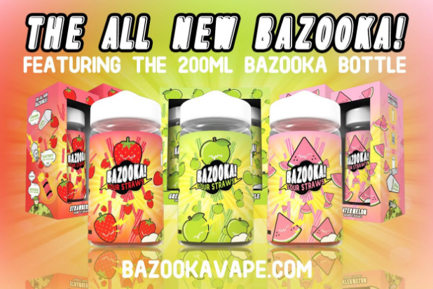 The 200ML Bazooka Bottle!!