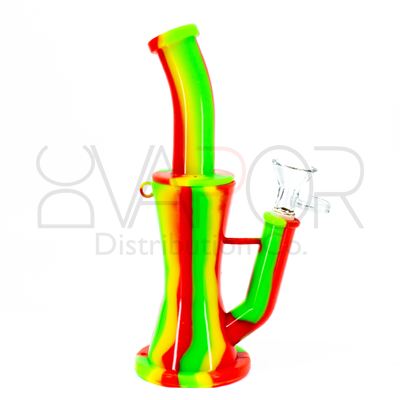 Silicone Double Filter Water Pipe - SB1033