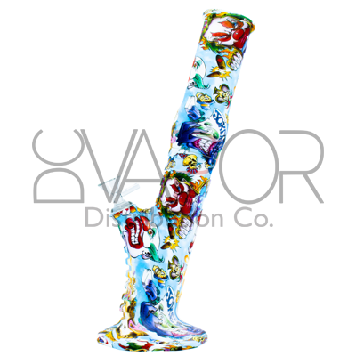 Silicone Pattern Water Pipe - SB1044