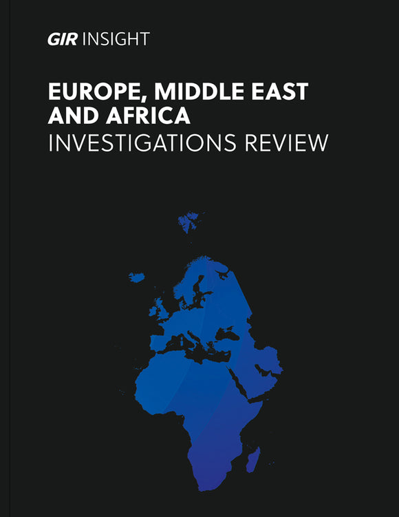 Europe, The Middle East and Africa Investigations Review 2020