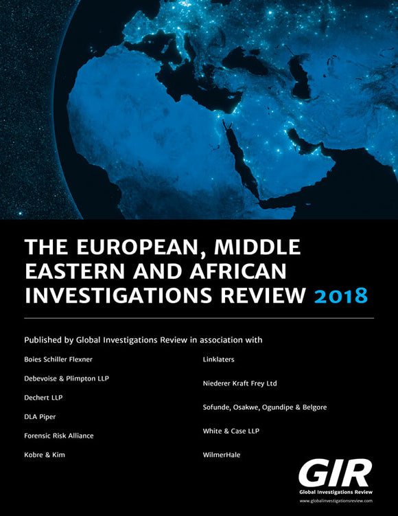 The European, Middle Eastern and African Investigations Review 2018