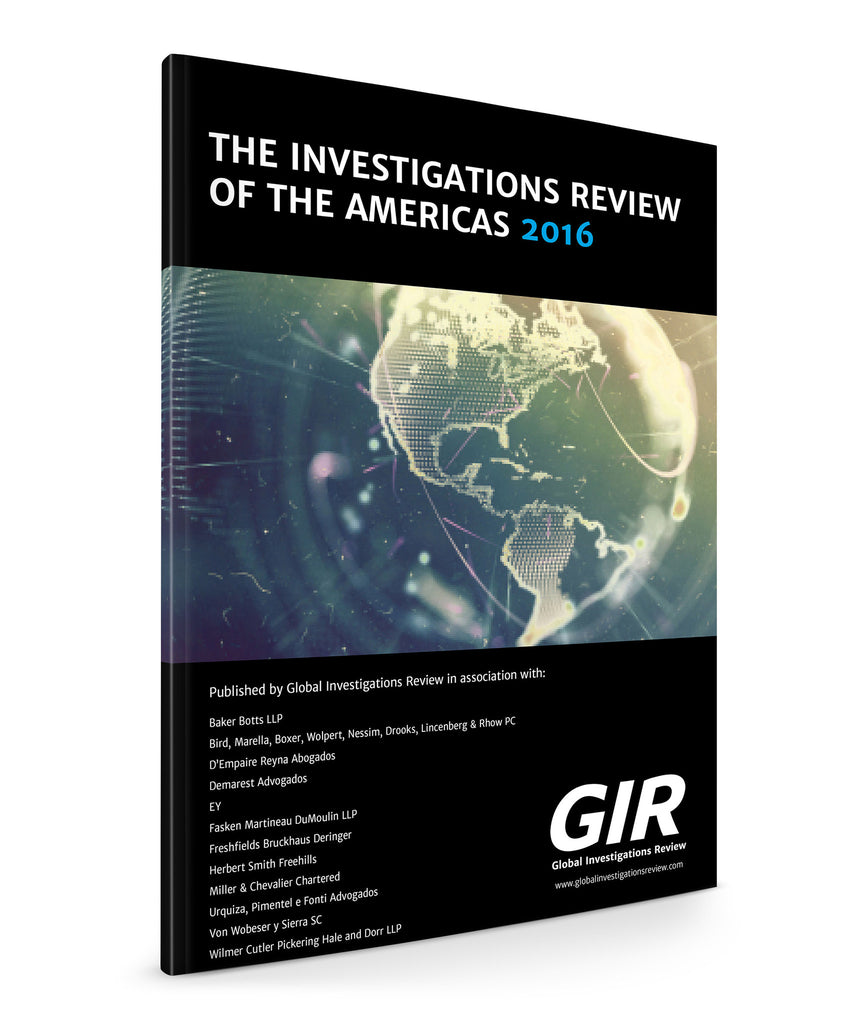 The Investigations Review of the Americas 2016