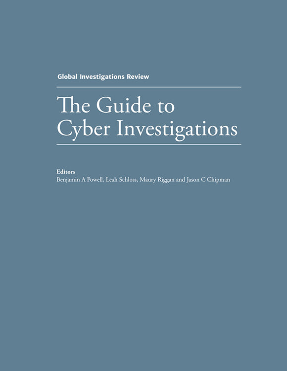 The Guide to Cyber Investigations - Edition 1