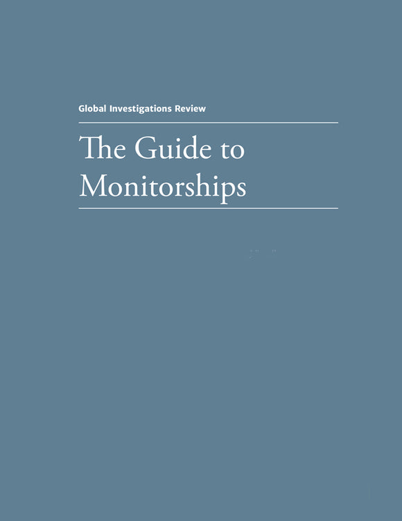 The Guide to Monitorships - Edition 2