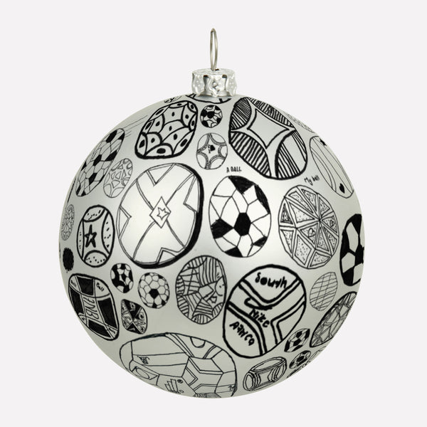 Dreamfields FC Football Ornament