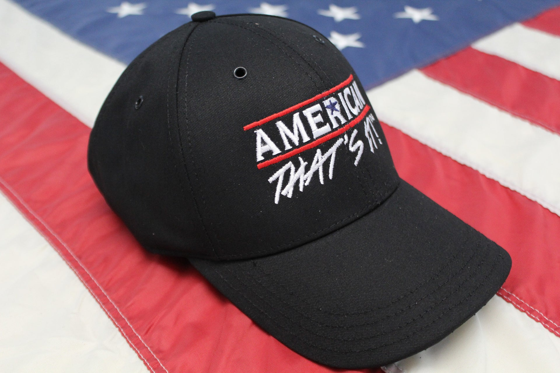 American That's It! Cap - Black